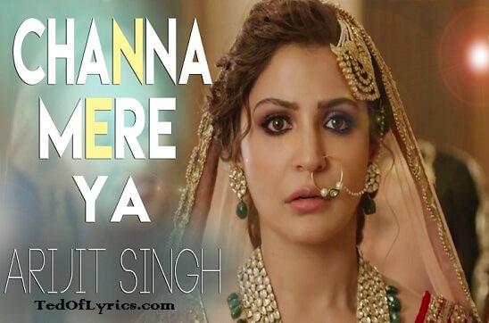 Channa-Mereya-Lyrics-Arijit-Singh