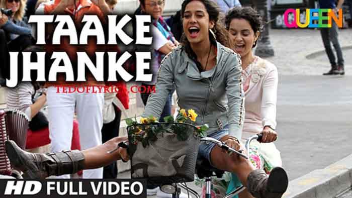 taake-jhanke-lyrics