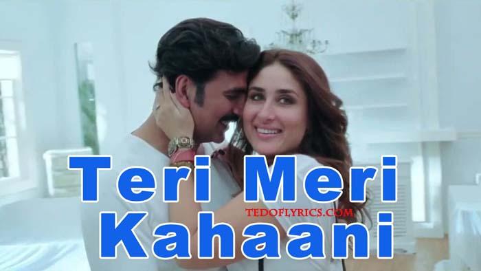 teri-meri-kahaani-lyrics
