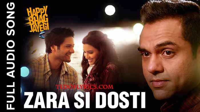 zara-si-dosti-lyrics