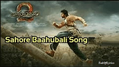 Saahore-Baahubali-Lyrics