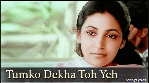 Tumko-Dekha-To-Ye-Khayal-Aaya-Lyrics
