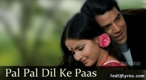 Pal-Pal-Dil-Ke-Paas-Lyrics-Blackmail