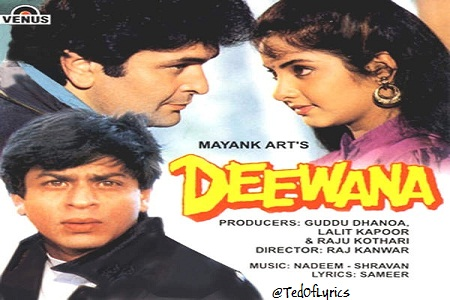 Deewana-1992-Songs-Lyrics-TedOfLyrics