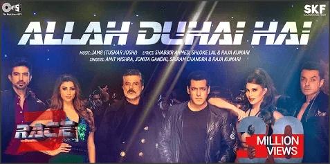 Allah-Duhai-Hai-Lyrics-Race-3